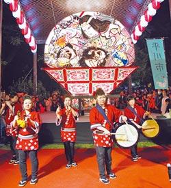 日本睡魔花燈 移至台中文創園區