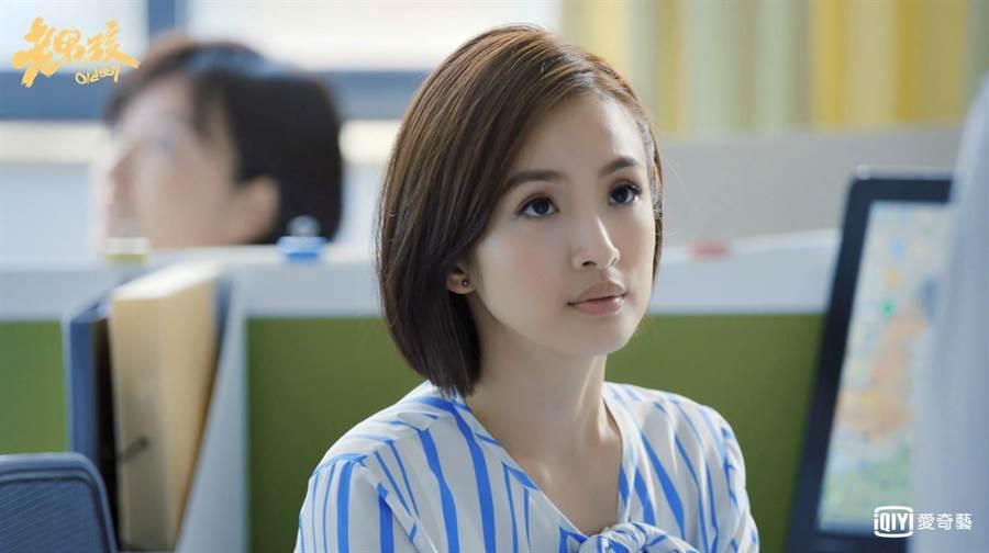 林依晨藉《老男孩》一舉登上流量女王寶座。愛奇藝台灣站提供