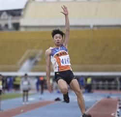 田徑》青年盃文華佑改寫U18跳遠全國紀錄