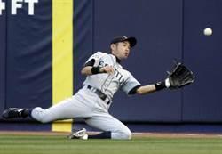 MLB》鈴木一朗腿部不適 首局坐車退場