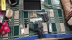 警追毒品上游 查出2改造手槍和毒品