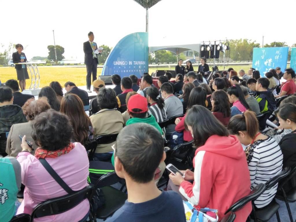 2018年國際非政府組織的年會,17日在台中大雅登場。(陳淑娥攝)