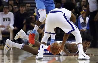 NBA》虎落平陽!傷殘勇士主場竟輸國王