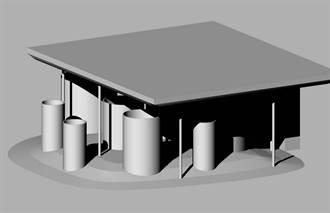 「新竹市城市美學」廁所結合涵洞遊具 改造新校園入口意象