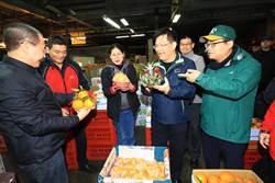 林佳龍:將打造台中果菜市場成為綠能新市場