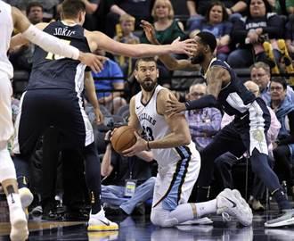 NBA》多虧「衰神」沒打!灰熊爆冷中止19連敗