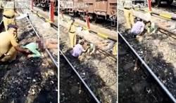 命大!男子失足摔落鐵軌 遭火車輾過「腰斬」竟奇蹟生還