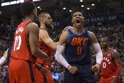 NBA》忍者龜比肩大O 連5場大三元轟翻暴龍