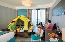室內露營正夯!福容大飯店全新「飯店式露營」引領風潮