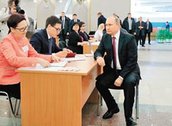 俄總統大選 普丁再掌政6年
