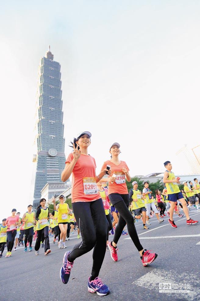全球避稅天堂,台灣首次進入前10名,名列第8。圖為台北101大樓。(中新社)