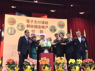 中華郵政啟用帳戶電子支付扣款   郵購站掃碼行動支付