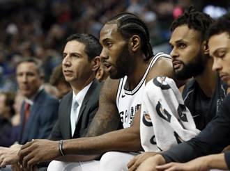 NBA》誰說不和?馬刺將花60億續留里歐納德