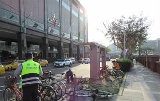 後火車站將取締違停自行車  數百輛學生單車將改停前鋒路邊