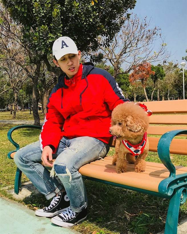 Q be是徐韜的愛犬。(客台提供)