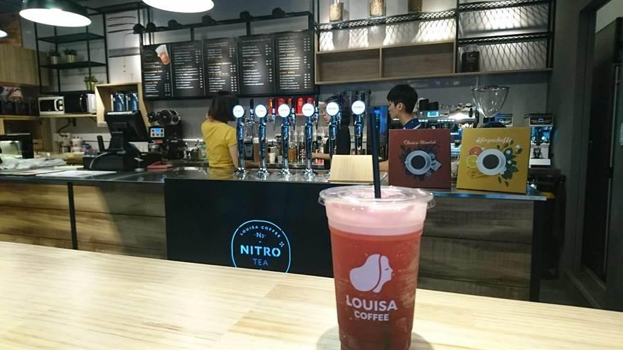 路易莎以平價聞名,其中店員最推薦的有五款。(圖/FB@路易莎咖啡Louisa Coffee(品牌總部))