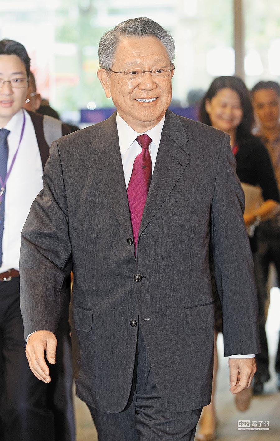 前國民黨副主席、現任國光生技董事長詹啟賢。(本報資料照片)
