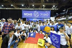 全球機器人大賽FRC 明道中學搶進澳洲區四強
