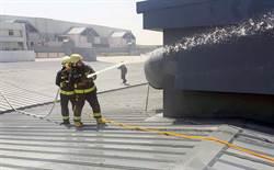 華航維修廠火警 疑機器過熱引燃泡綿