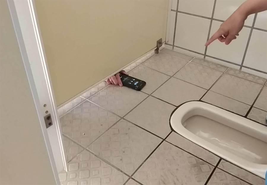 廁所偷拍示意圖。(中時資料照)