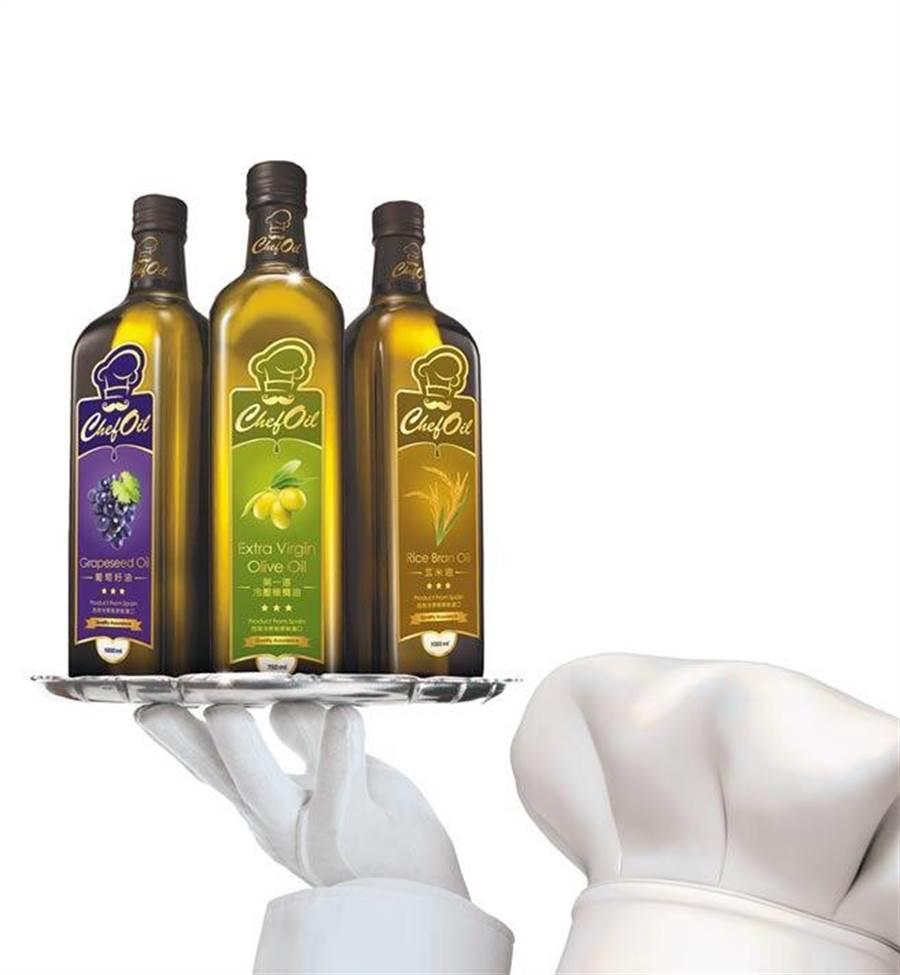 ChefOil主廚精選為米其林晚宴指定用油。圖片提供泰山企業