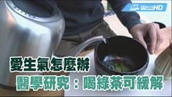 愛生氣怎麼辦 醫學研究:喝綠茶可舒緩
