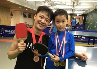 何豪傑花10幾萬培養桌球冠軍兒!被7歲QQ慘電還覺驕傲