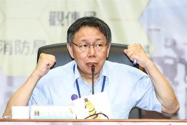 台北市長柯文哲。(本報系資料照片)