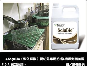 SojuBio奶瓶清潔劑 潔淨力讚