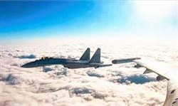 戰巡南海護航轟6K 陸蘇-35發揮速食戰力