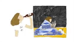 在哪裡跌倒,就在哪裡躺好! 慵懶系插畫家女子教你如何面對人生