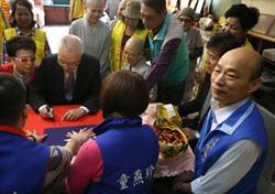 吳敦義與韓國瑜近乎零互動的一天