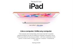 蘋果平價iPad登場 搭載Apple Pencil及ARKit應用