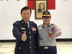 楊梅警分局成立60年 終於有首位女所長上任