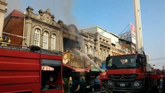 台南新化老街傳火警 90年歷史老餅鋪慘遭祝融