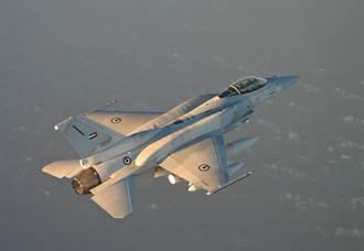 藝高膽大 阿聯F-16戰機避過飛彈狙擊
