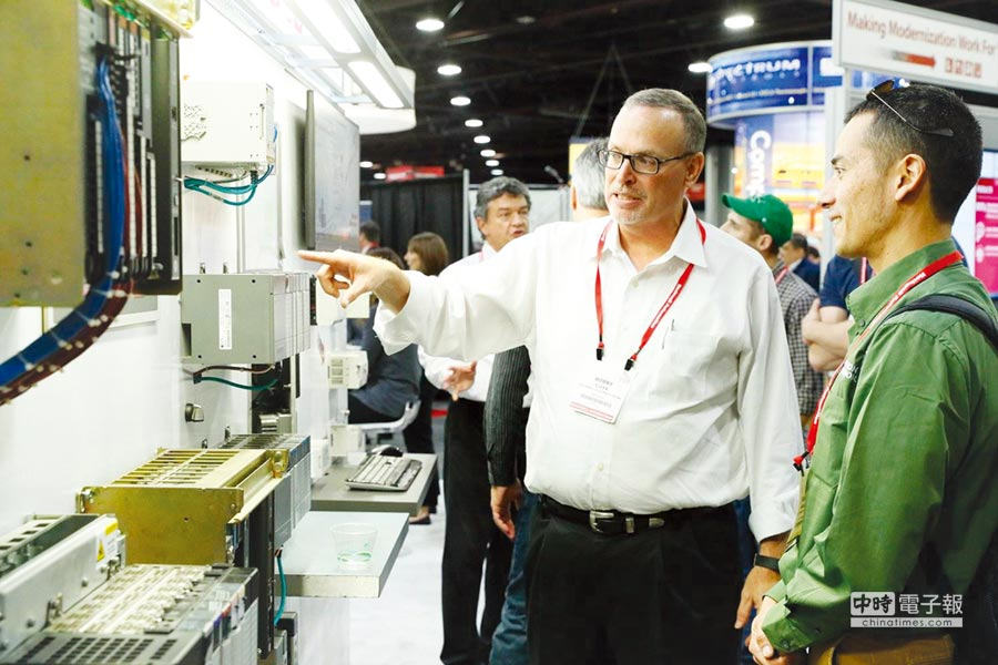 Automation Fair由洛克威爾自動化主辦,是工業自動化與信息領域的世界級培訓論壇及展覽會,全球注目;圖為2017年會一隅。圖/業者提供