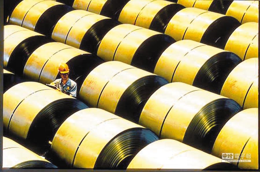 美國是台灣鋼鐵首要的出口國,比重超過2成。經濟部統計處估計台灣鋼鐵輸美,恐有3成會被課到高關稅。(本報資料照片)