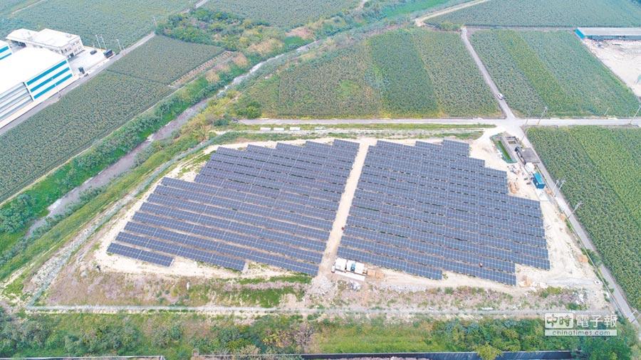 台南市掩埋場發電量,高居全國第一,圖為鹽水一期掩埋場。(台南市環保局提供)