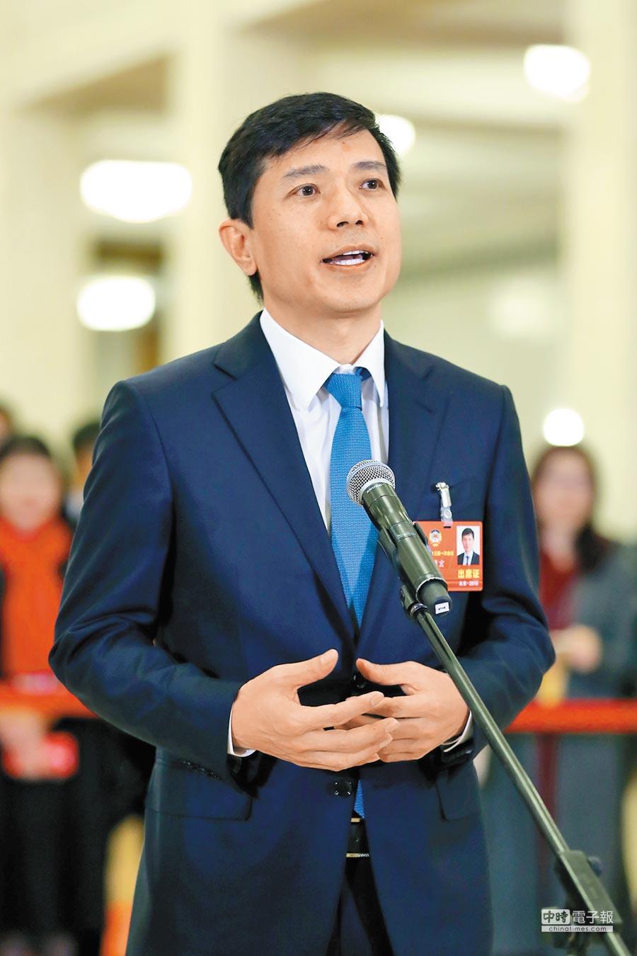 百度公司董事長兼首席執行長李彥宏。(新華社)
