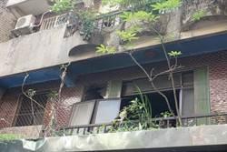 公寓惡火奪命 中風翁燒成焦屍