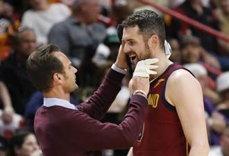 NBA》騎士又陷困境 洛夫進腦震盪名單