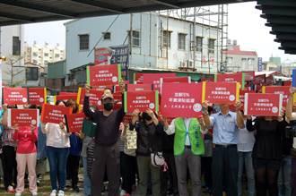 嘉基醫院300餘醫護上街抗議 要求加薪5%