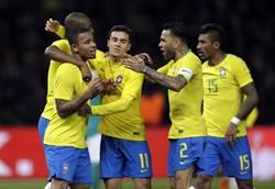 《時來運轉》世足奪冠賠率 巴西領跑 德國居次