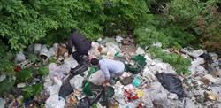 七安產業道路遭亂丟廢棄物 元凶捉到了!