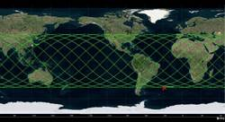 「天宮一號」恐在3天內墜落 位在非洲與南美洲