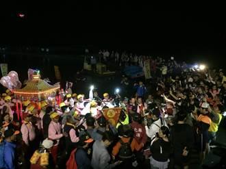 彰化南瑤媽「潦濁水溪」回鑾