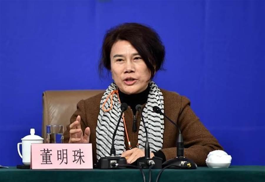 空調大廠格力電器董事長董明珠。(資料照/新華社)
