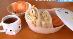 DIY輕食版超大方烤土司 方便美味健康超快速作法