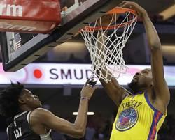 NBA》就差柯瑞!浪花弟復出 勇士狂電國王止敗